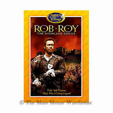 The Wonderful World of Disney Scotland Rob Roy MacGregor The Highland Rogue DVD