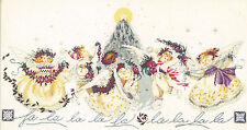 Cross Stitch Chart / Pattern ~ Mirabilia Crystal Christmas Angels #MD28