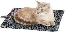 Waloo Pets Thermal Pet Mat Cat Bed Self Heating Leopard Print