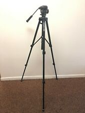 ProMaster 4600 Camera Tripod w/ PRO Fluid Action Head, EUC