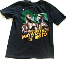 Mayweather Vs Berto Boxing NEW T-Shirt Sept 12th, 2015  MGM Size XL or L