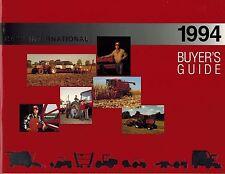 "CASE INTERNATIONAL BUYER'S GUIDE ""NEW"" 1994*"