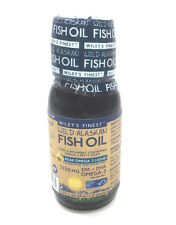 Wiley's Finest Wild Alaskan Fish Oil Lemon Flavour Omega-3 Liquid 60 ml  Liquid