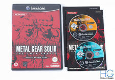 Metal Gear Solid: The Twin Snakes-Nintendo Gamecube Juego Y Estuche PAL