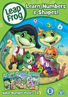 Leapfrog - Learn Numbers and Shapes [DVD][Region 2]