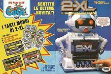 X1701 2-XL Robot - Tiger - Gig - Pubblicità del 1993 - Vintage advertising