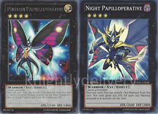 Yugioh Authentic Dextra Deck - Papilloperative - Alexandra Queen  - NM 43 Cards
