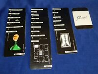 "CLUEDO CARDS - INDIVDUAL OR CHARACTERS / WEAPONS / ROOMS - ROUND EDGES - ""C"""