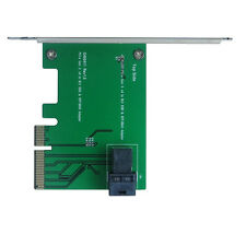 Mini SAS HDx1 (SFF-8643) to PCIe Gen 3 4-Lane Adapter
