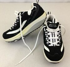 Skechers Shape-ups Women's Size 7 Black White Walking Toning Shoes 11809