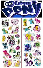 3D puffy Stickers MY LITTLE PONY Celestia Twilight Sparkle Ponyville Applejack