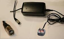 Giant 36V 4A 5 Pin Electric Bike Battery Charger UK Plug
