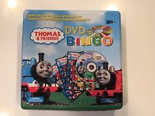 Thomas And Friends Dvd Bingo Board Game In Collectible Tin Box