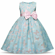 Flower Girl Princess Gown Baby Kids Party Bridesmaid Formal Party Tutu Dresses