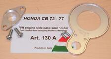 Cappellini Moto Honda CB72/77 RH engine side case seal retention holder kit 130A