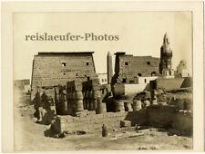 Egypt, Luxor Temple by Zangaki, Original Photo, ca. 1900