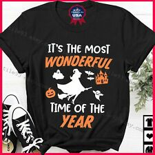 New listing Tt's The Most Wonderful Time Of The Year Halloween Witch Party Shirt Gift