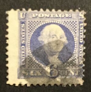TDStamps: US Stamps Scott#115 Pictorial Used Tiny Thin CV$225.00