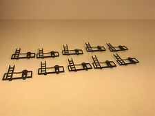 Lot of 10 Used HO Tyco Caboose Railing w/Brake Wheel & Ladder Car Repair Lot
