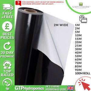 Black and White Reflective Sheeting Mylar 1/2/5/10/20/30/40/50/60/70/80/90/100m