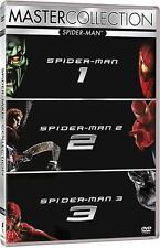 SPIDERMAN 1,2,3 (3 DVD) COFANETTO UNICO, NUOVO, ITALIANO