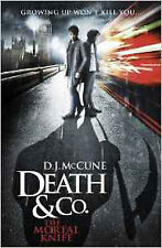 The Mortal Knife (Death & Co.), New, D. J. McCune Book