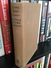 Jimmy Wilde Fighting Was My Business 1st Ed. Boxing Book 1938