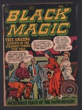 Black Magic Vol 2 #3 G/VG 3.0 Cream to Off White Pages Jack Kirby and Art