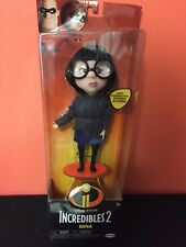 New listing Disney Pixar Incredibles 2 Poseable Edna Mode Action Figure Doll