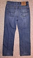 Lucky Brand Dungarees Womens Button Fly Jeans Low Rise Boot Leg Size 30 X 29