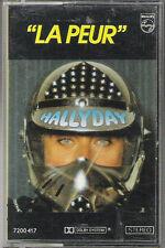 "Cassette audio ""Johnny HALLYDAY"" La peur (14)"