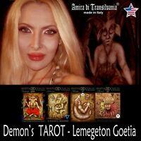 do you know your demon ? ask me now a kabbalah consultation tarot cards deck