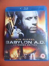 BLU RAY CD DVD MOVIE FULL 1080p HD DTS BABYLON A.D. VIN DIESEL Gérard Depardieu
