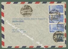 REPUBBLICA ITALIANA. Storia Postale. Aereogramma del 1949 per gli U.S.A....