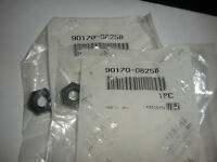 NOS Yamaha OEM Rear Wheel Hexagon Nut 80-16 SR250 TT250 XT250 90170-08258 QTY 2