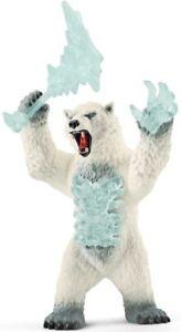 Schleich Eldrador Creatures BLIZZARD BEAR WEAPON Plastic Toy Scary Iceanimal NEW