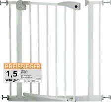 Barrière de sécurité BERRIN 75 - 175 cm blanc | porte escalier Auto-close TOP