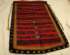 Rare original Eastern Europe half apron folk Ethnic wool clothing Islamic coins