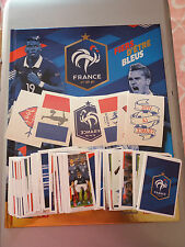 album panini france carrefour + set complet d images + tatouages  euro 2016