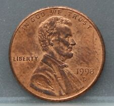 USA - Amerika 1 one cent 1998 D