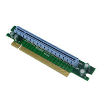 PCI-E Express 16X 90 Degree Adapter Riser Card For 1U Computer Server Chassis op