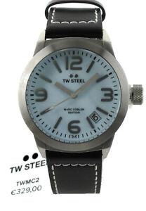 TW Steel Herren/Damen Uhr TWMC2 Marc Coblen Edition, Leder, 42 mm, UVP € 329,00