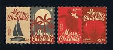 Aitutaki - 2017 Christmas Stamp Pairs Set of Stamps