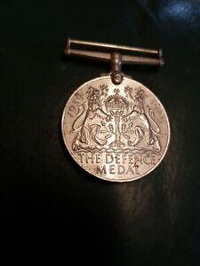 "1939 - 1945 ""The Defence Medal"" George VI"