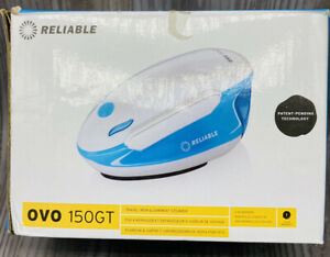 Reliable OVO 150GT Travel Iron & Garment Steamer - White/Blue BRAND NEW