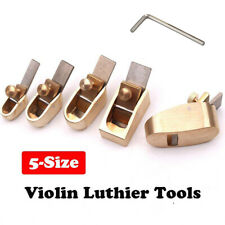 5Pc Woodworking Plane Cutter Curved Sole Luthier Tool Set For Violin Viola Cello