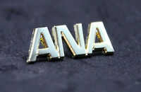 Pin ANA All Nippon Airways golden metal Pin for Crew, Pilots, Ground Staff