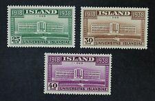 CKStamps: Iceland Stamps Collection Scott#209-211 Mint NH OG