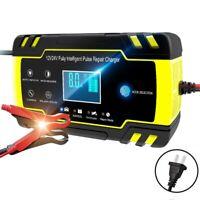 Car 12V/24V Jump Starter Emergency Power Charger for Battery LCD Display US/ EU