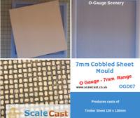 O gauge Model Railway COBBLE STONE Mould 7mm Scale - OGD07 - 1:43 - O Scale